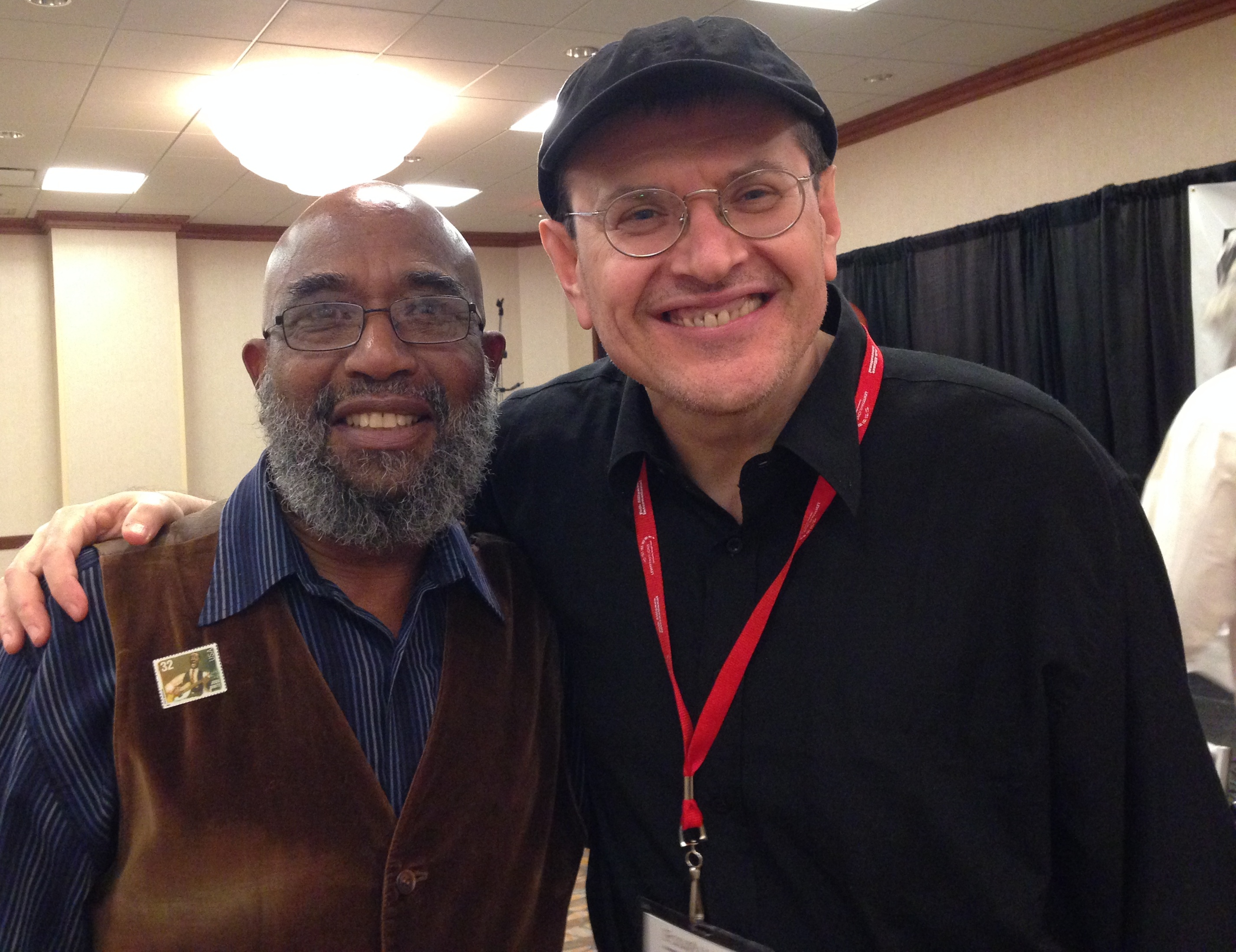 Josh White & Fabrizio Poggi Folk Alliance 2014 Kansas City