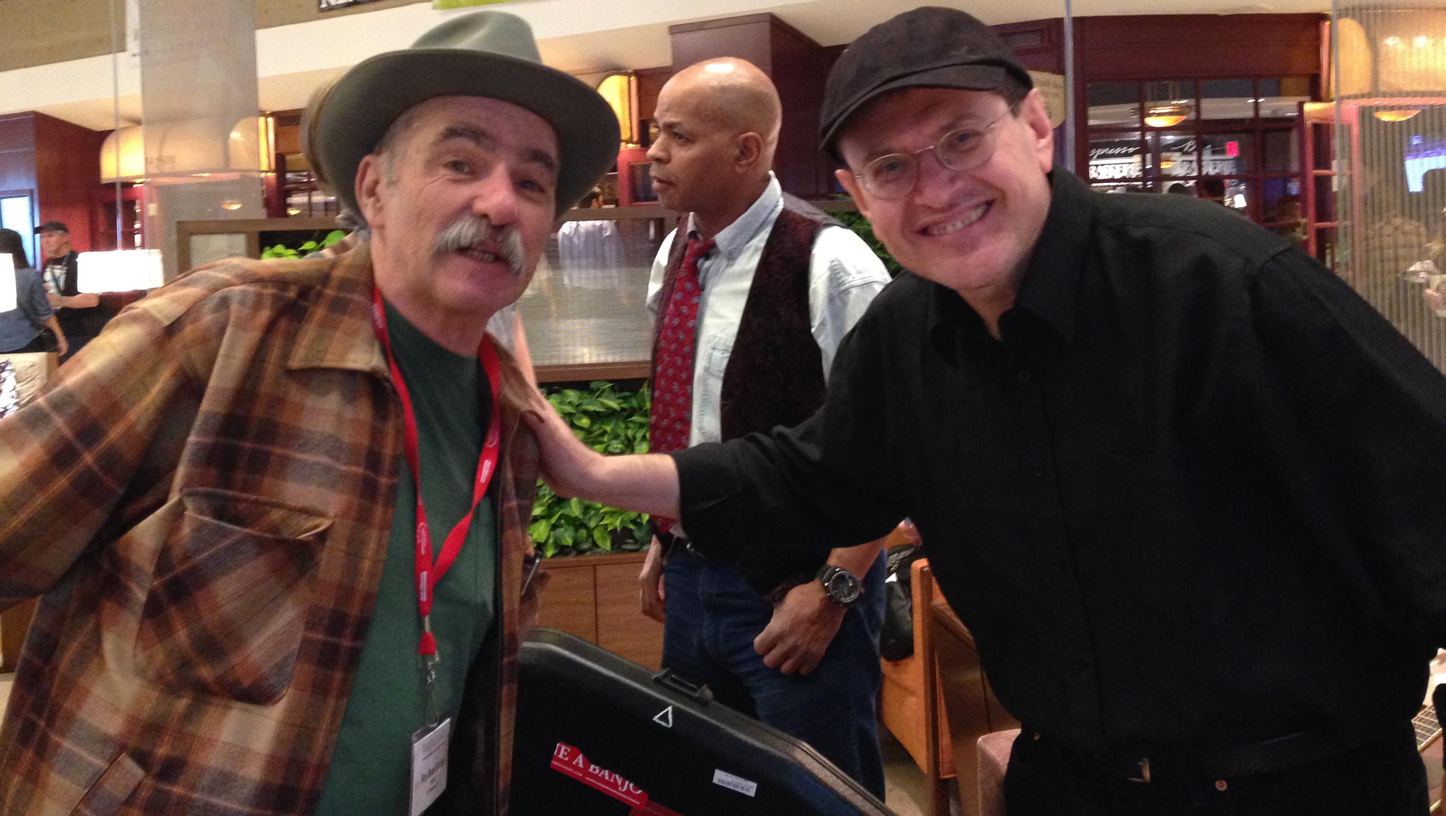 Roy Book Binder & Fabrizio Poggi Folk Alliance 2014 Kansas City