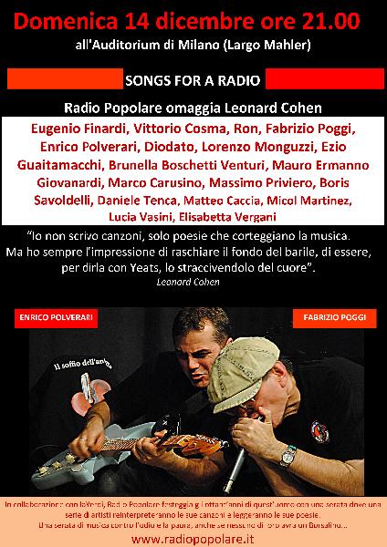 Fabrizio Poggi & Enrico Polverari live @Teatro Verdi Milan