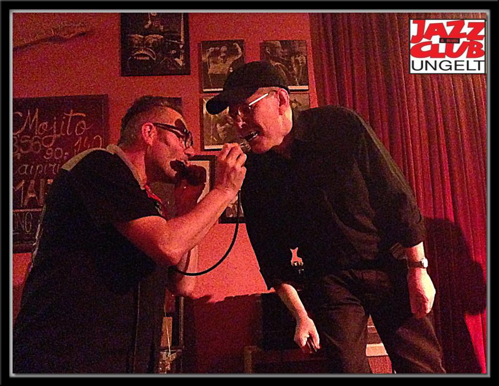 Fabrizio Poggi live in Praga with Charlie Slavik