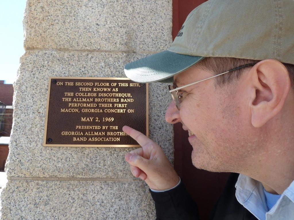 Fabrizio Poggi Macon, Georgia home of the Allman Brothers