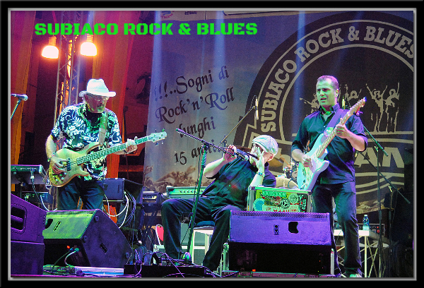 Fabrizio Poggi & Chicken Mambo live@ Subiaco Rock Blues Festival