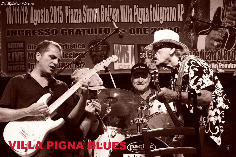 Fabrizio Poggi & Chicken Mambo live@ Villa Pigna Blues Festival