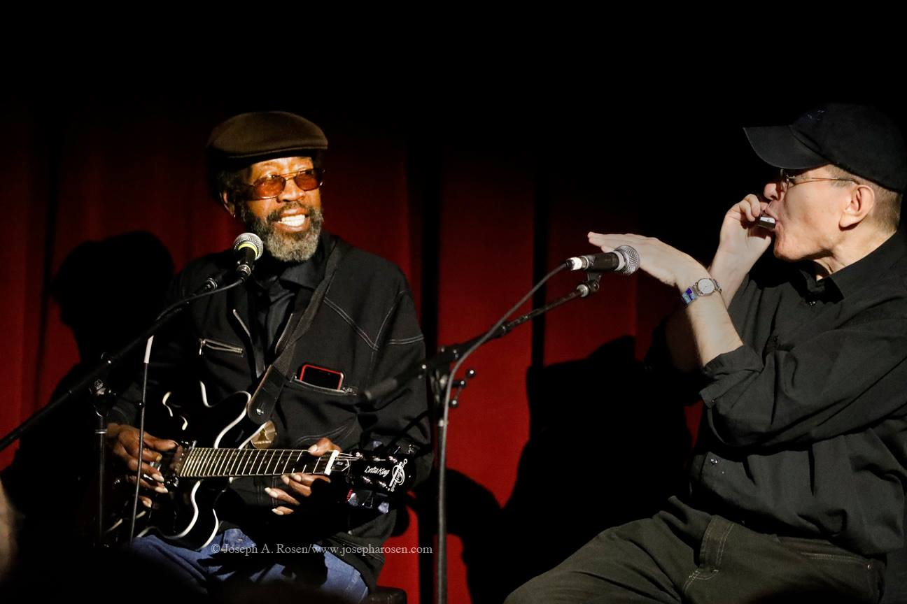 R. L. Boyce & Fabrizio Poggi live City Wineyard in New York
