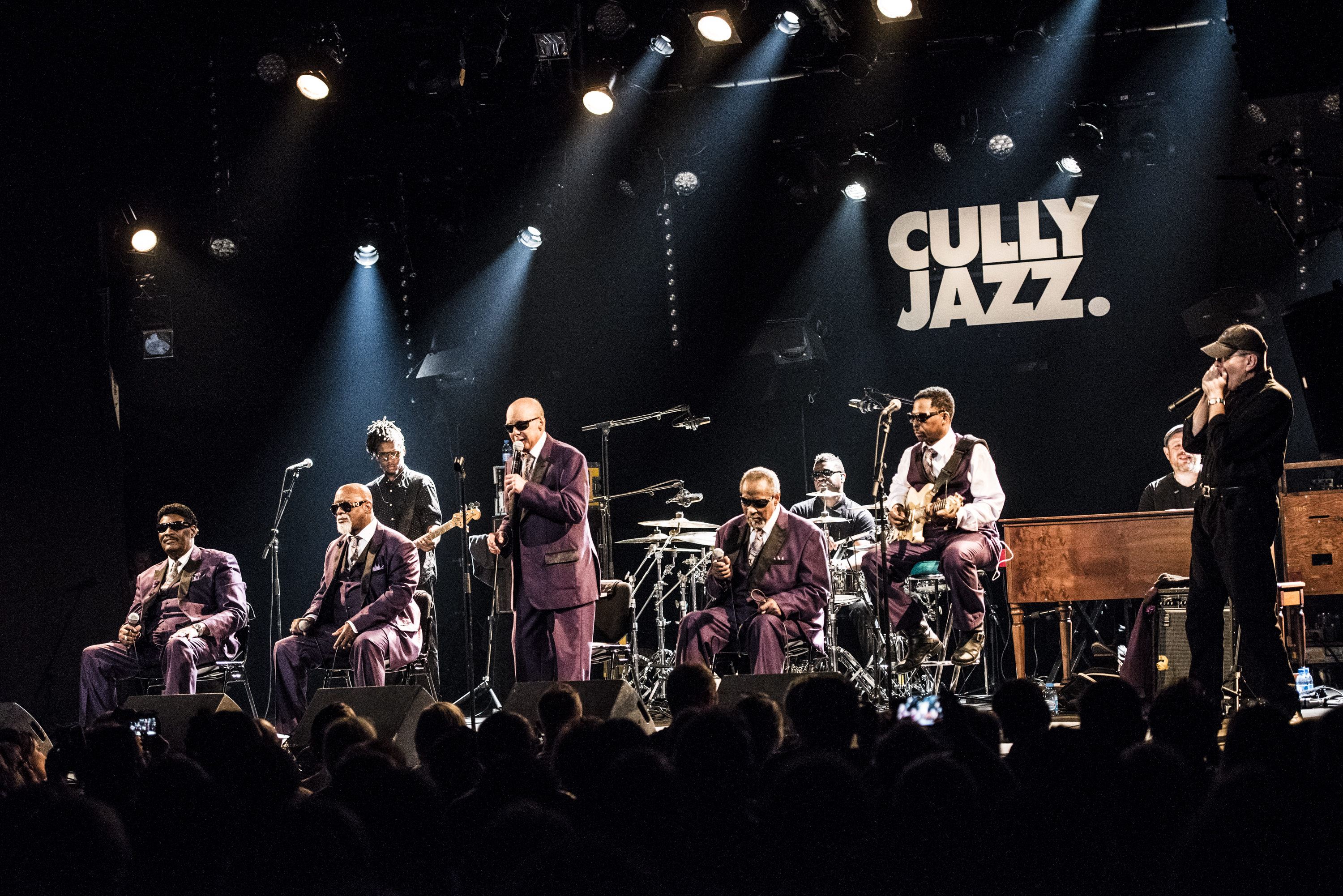 The Blind Boys of Alabama special guest Fabrizio Poggi live at the Cully Jazz Festival