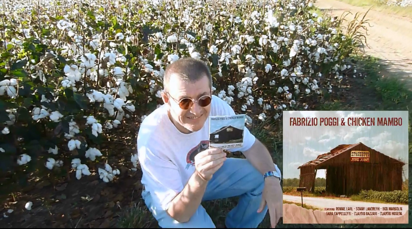Fabrizio Poggi message from cotton fields
