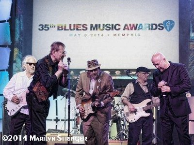 BOB MARGOLIN, FABRIZIO POGGI, RONNIE EARL, JIM MOURADIAN, KIM WILSON - BLUES MUSIC AWARDS - MEMPHIS