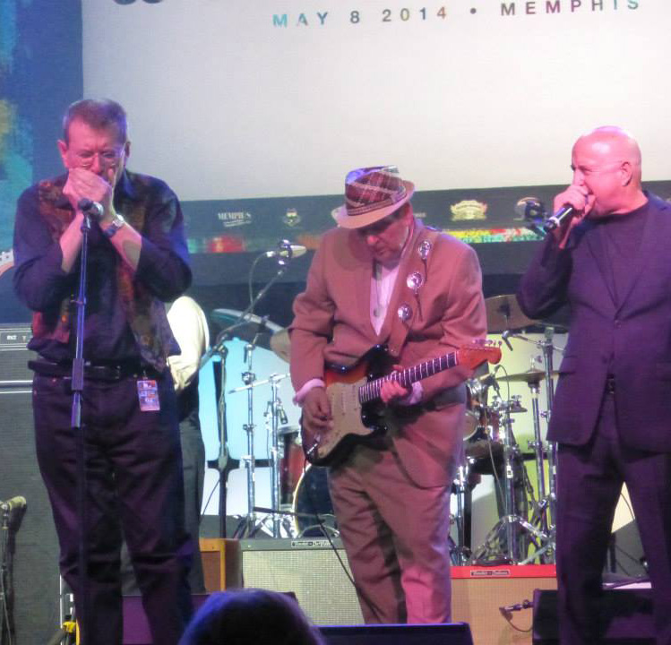 FABRIZIO POGGI, RONNIE EARL, KIM WILSON - BLUES MUSIC AWARDS - MEMPHIS