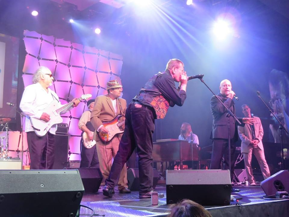 BOB MARGOLIN, FABRIZIO POGGI, RONNIE EARL, JIM MOURADIAN, KIM WILSON, LORENZO FARRELL, DAVE KELLER  - BLUES MUSIC AWARDS - MEMPHIS