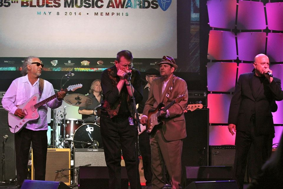 BOB MARGOLIN, TOM HAMBRIDGE, FABRIZIO POGGI, RONNIE EARL, JIM MOURADIAN, KIM WILSON BLUES MUSIC AWARDS - MEMPHIS