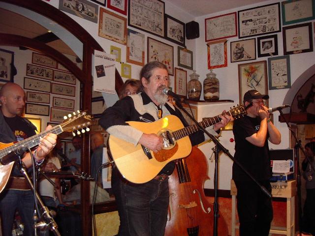 Alessando Valle (Francesco De Gregori band),  Luigi Grechi Fabrizio Poggi