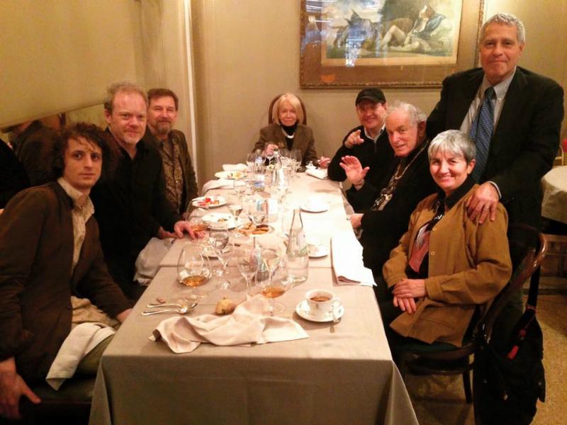 Adam Amram, Rene Hart, Kevin Twigg, Viviana, Fabrizio Poggi, David Amram,
