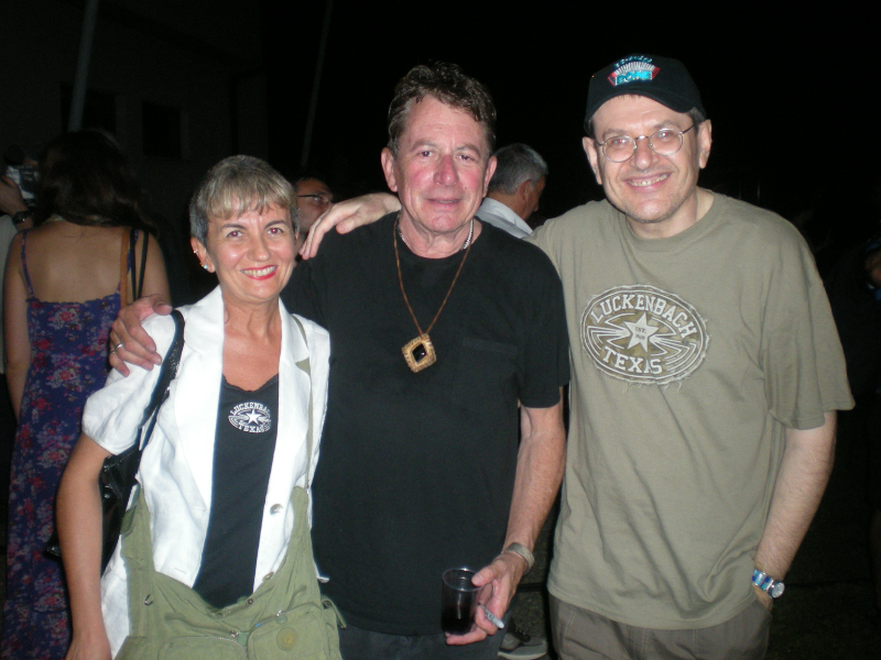 Angelina, Joe Ely and Fabrizio Poggi