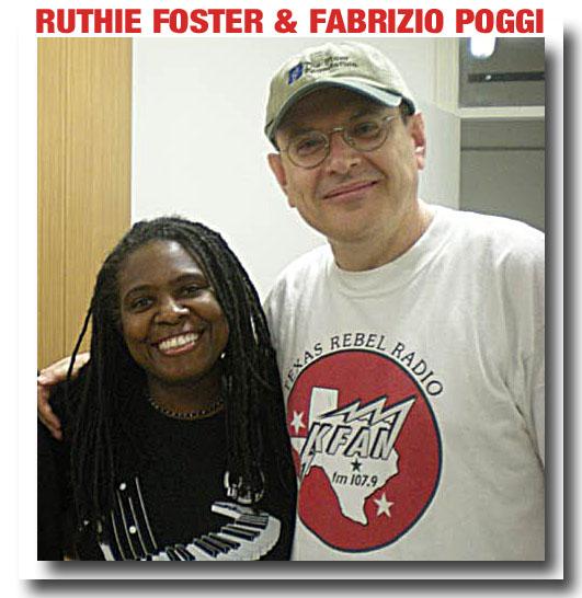 Ruthie Foster and Fabrizio Poggi