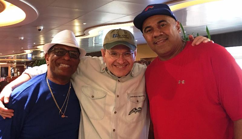 Biscuit Miller, Fabrizio Poggi & Ronnie Baker Brooks
