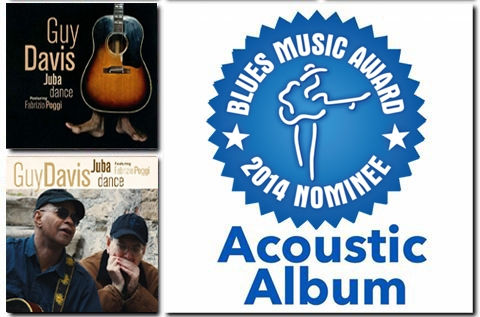 JUBA DANCE by Guy Davis special guest Fabrizio Poggi Blues Music Award Acoustic Album nominee