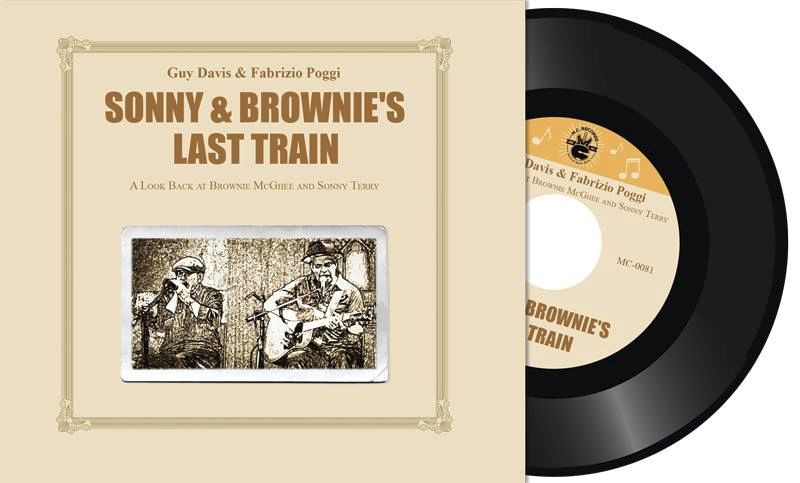 "Guy Davis & Fabrizio Poggi ""Sonny and Brownie's last train. A look back to Brownie McGhee and Sonny Terry"""