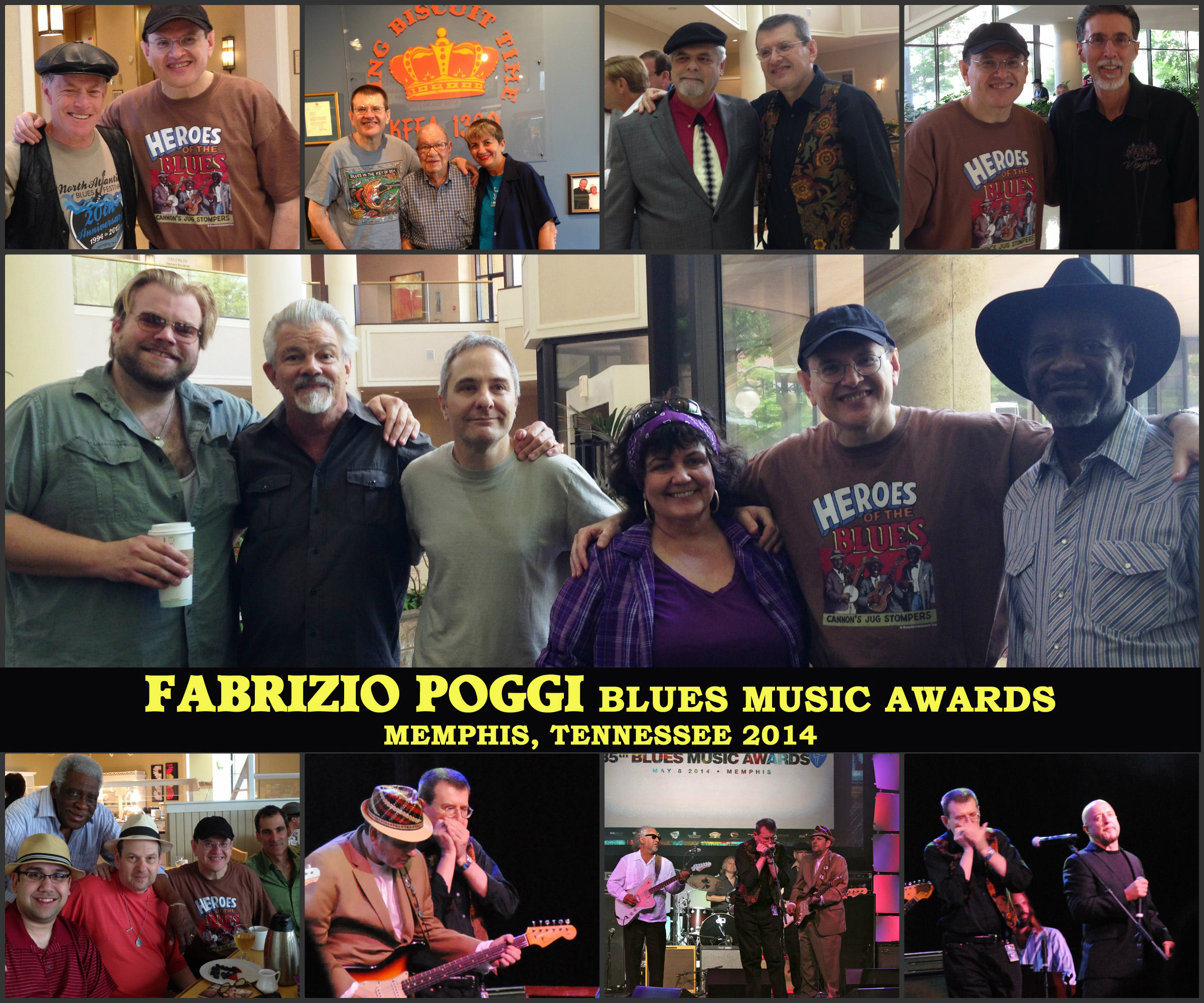 FABRIZIO POGGI BLUES MUSIC AWARDS 2014