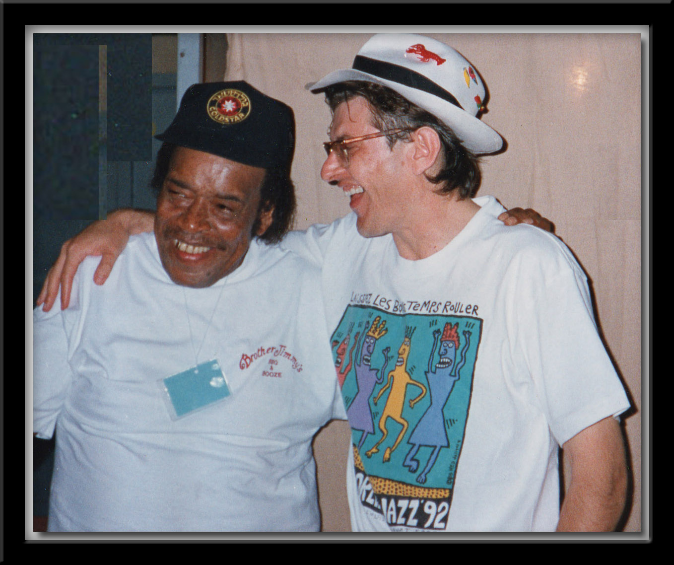 James Cotton and Fabrizio Poggi - Pistoia Blues 93