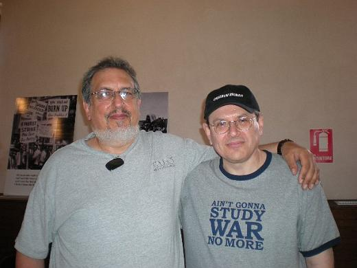 David Bromberg and Fabrizio Poggi