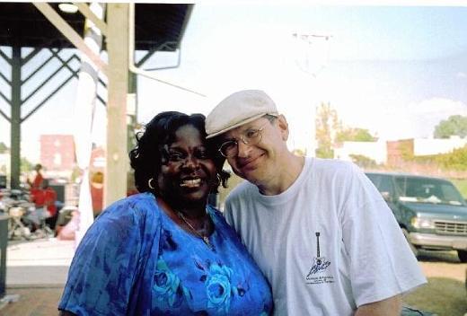 Diunna Greenleaf and Fabrizio Poggi