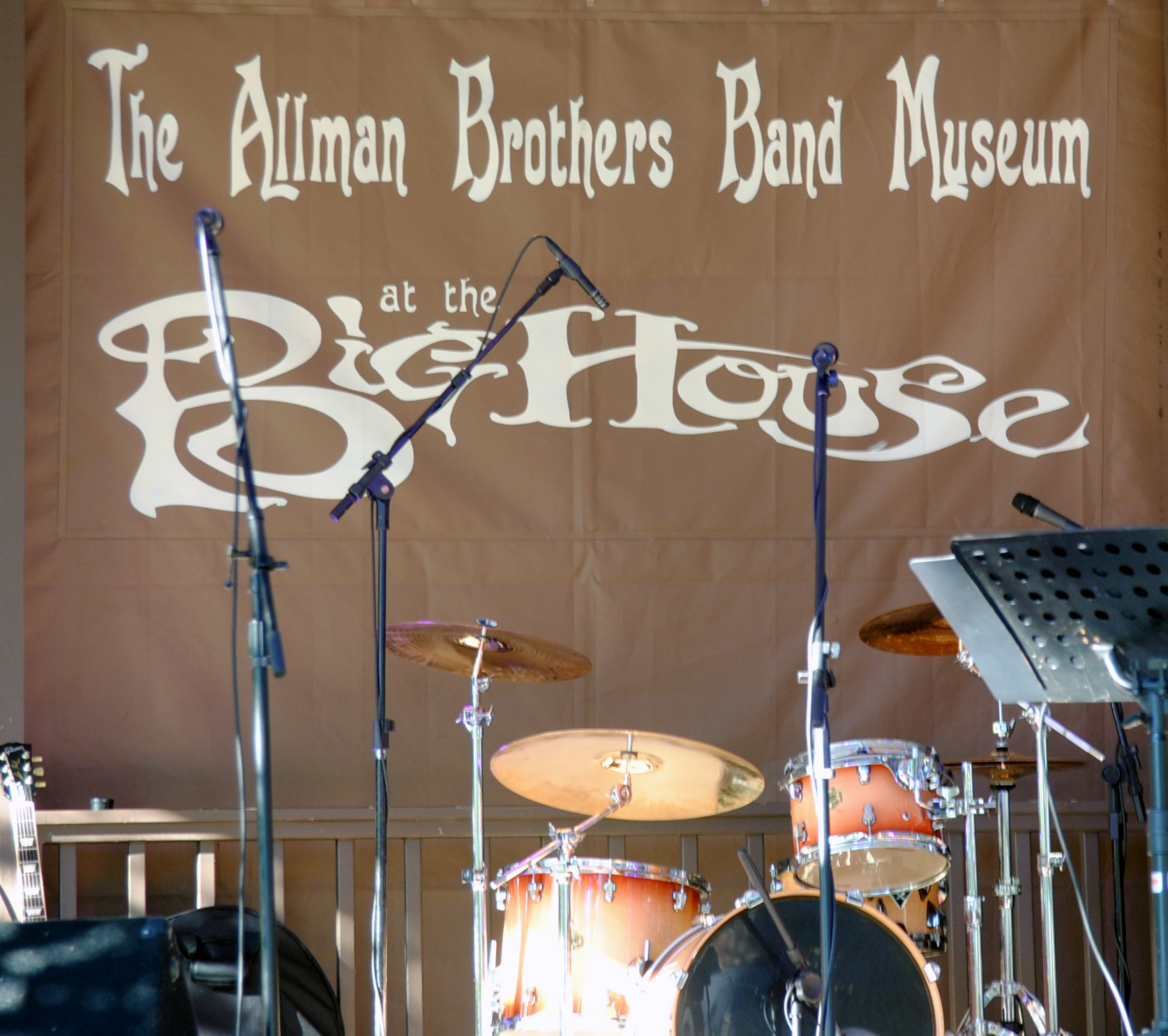 The Allman Brothers Big House in Macon, Georgia