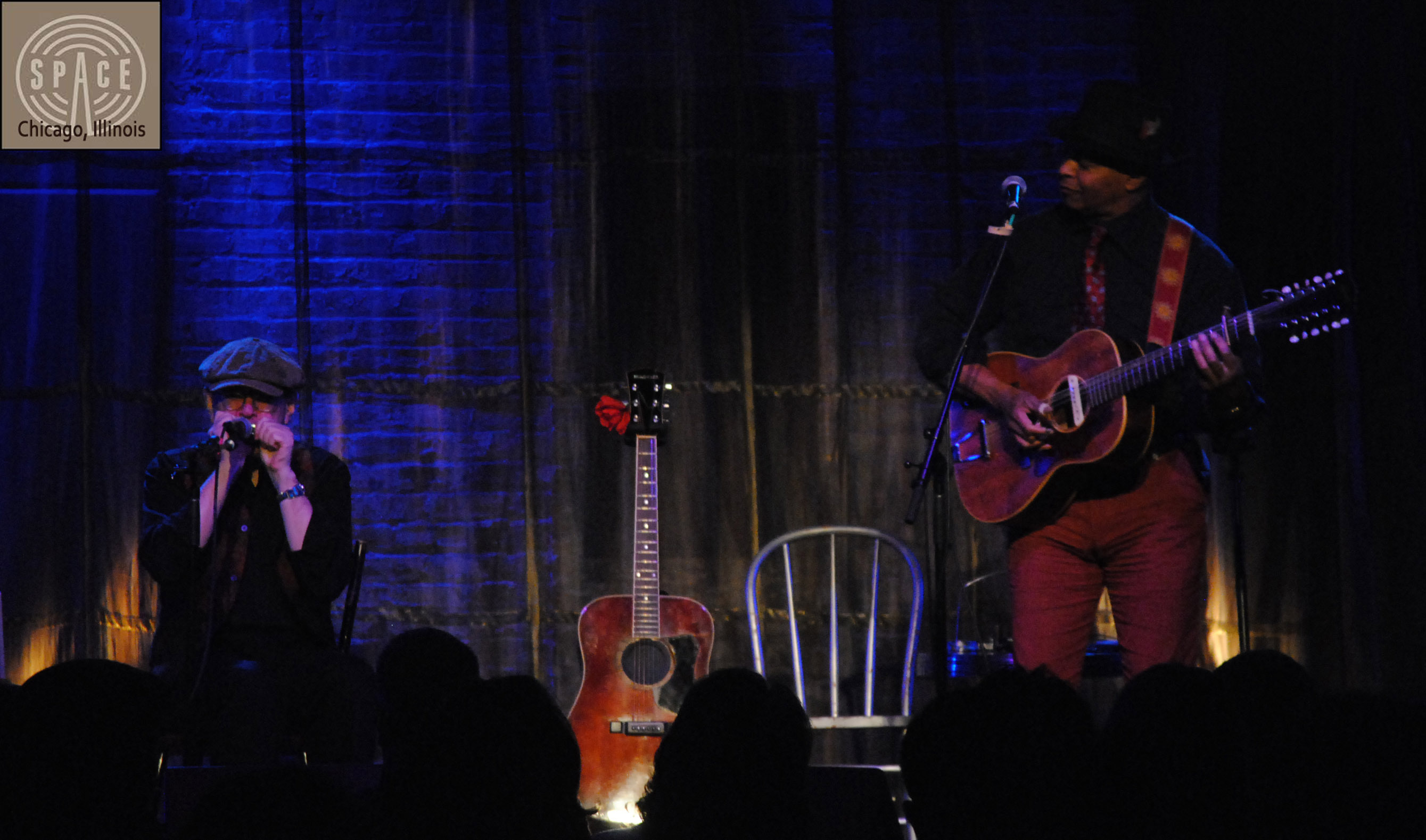 GUY DAVIS & FABRIZIO POGGI 2014 USA TOUR live at  THE SPACE Chicago Evanston, Illinois