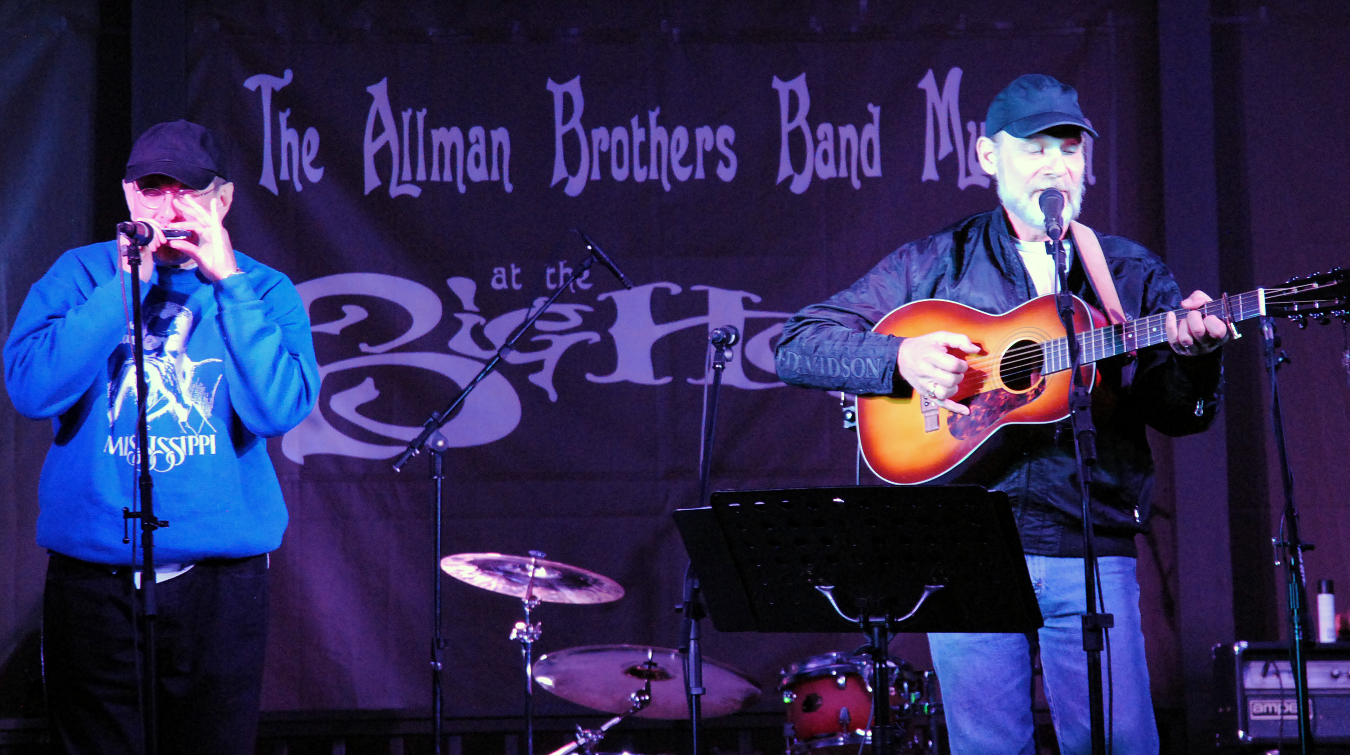 Fabrizio Poggi & Scott Pallot live at The Allman Brothers Big House in Macon, Georgia