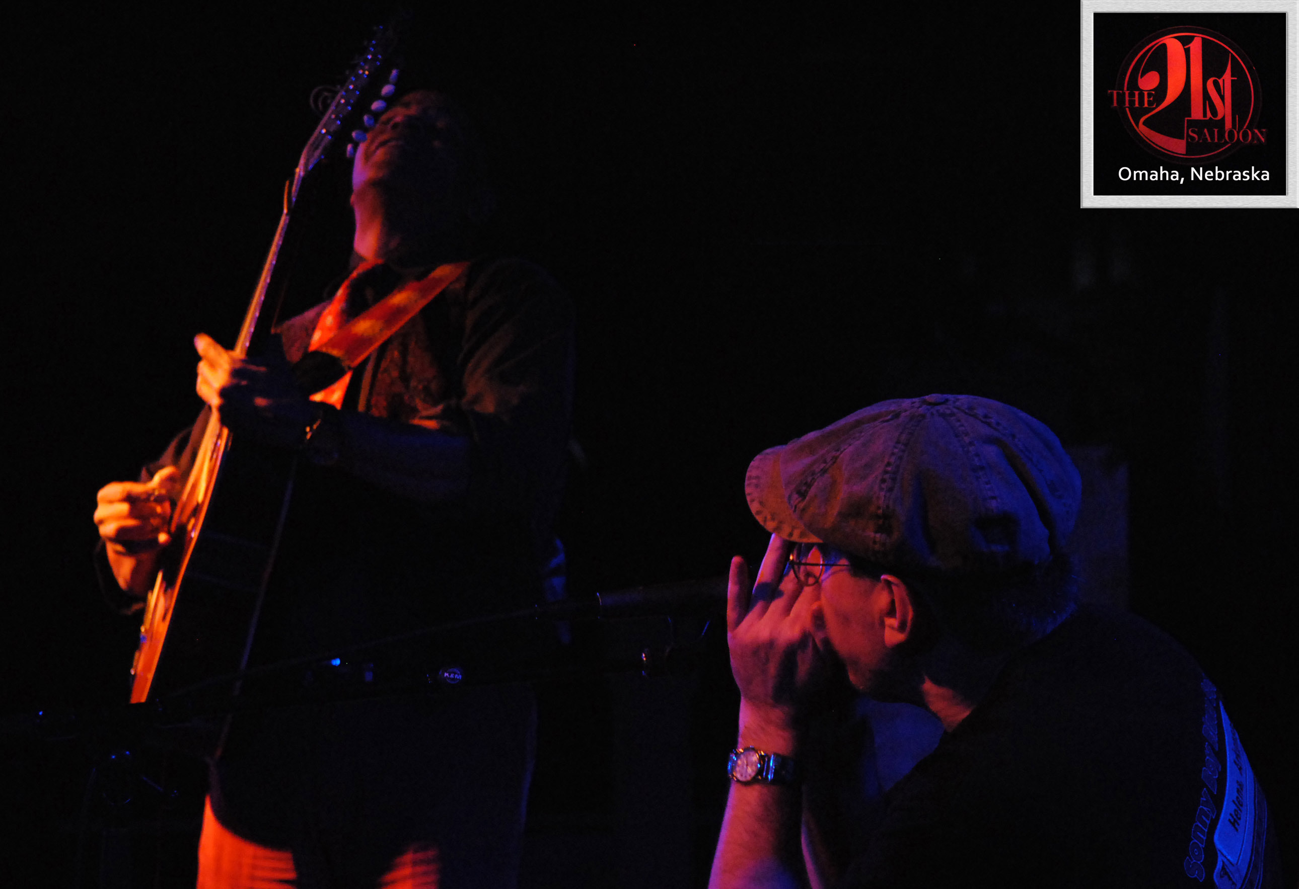 GUY DAVIS & FABRIZIO POGGI 2014 USA TOUR live at 21St Omaha, Nebraska