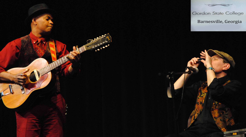 GUY DAVIS & FABRIZIO POGGI 2014 USA TOUR GORDON COLLEGE Barnesville, Georgia