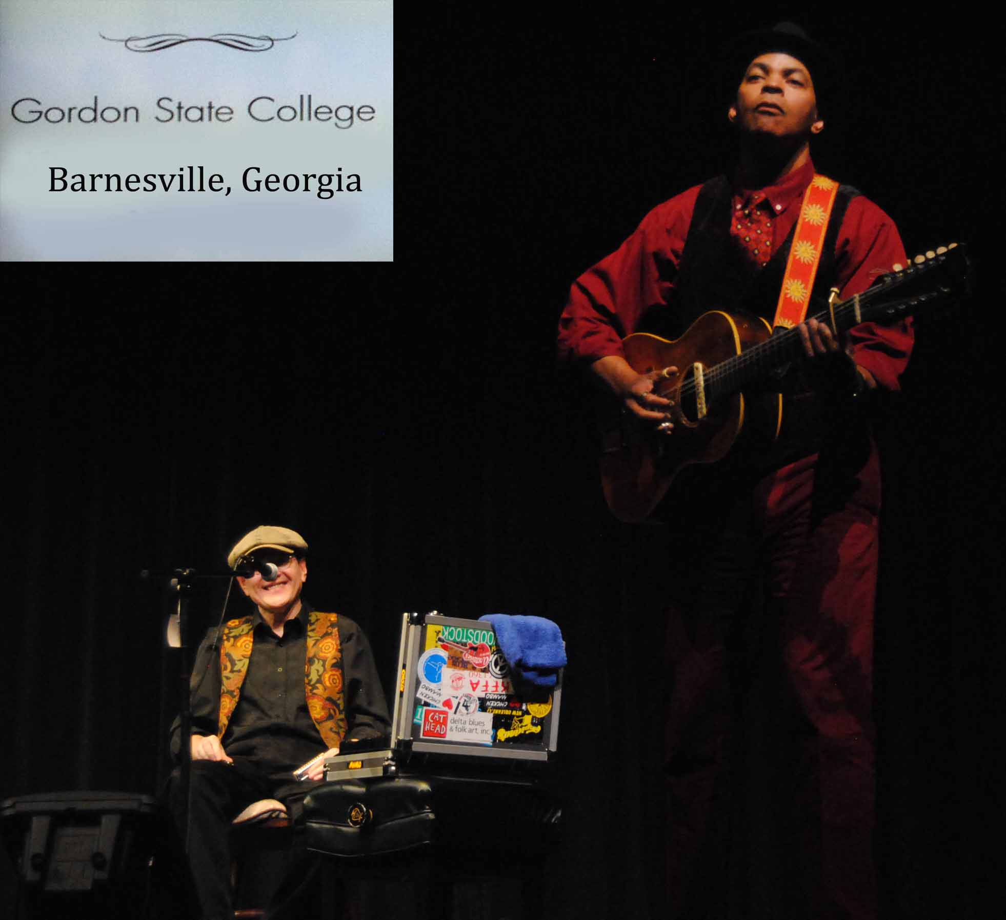 GUY DAVIS & FABRIZIO POGGI 2014 USA TOUR GORDON COLLEGE Barnesville, Georgia