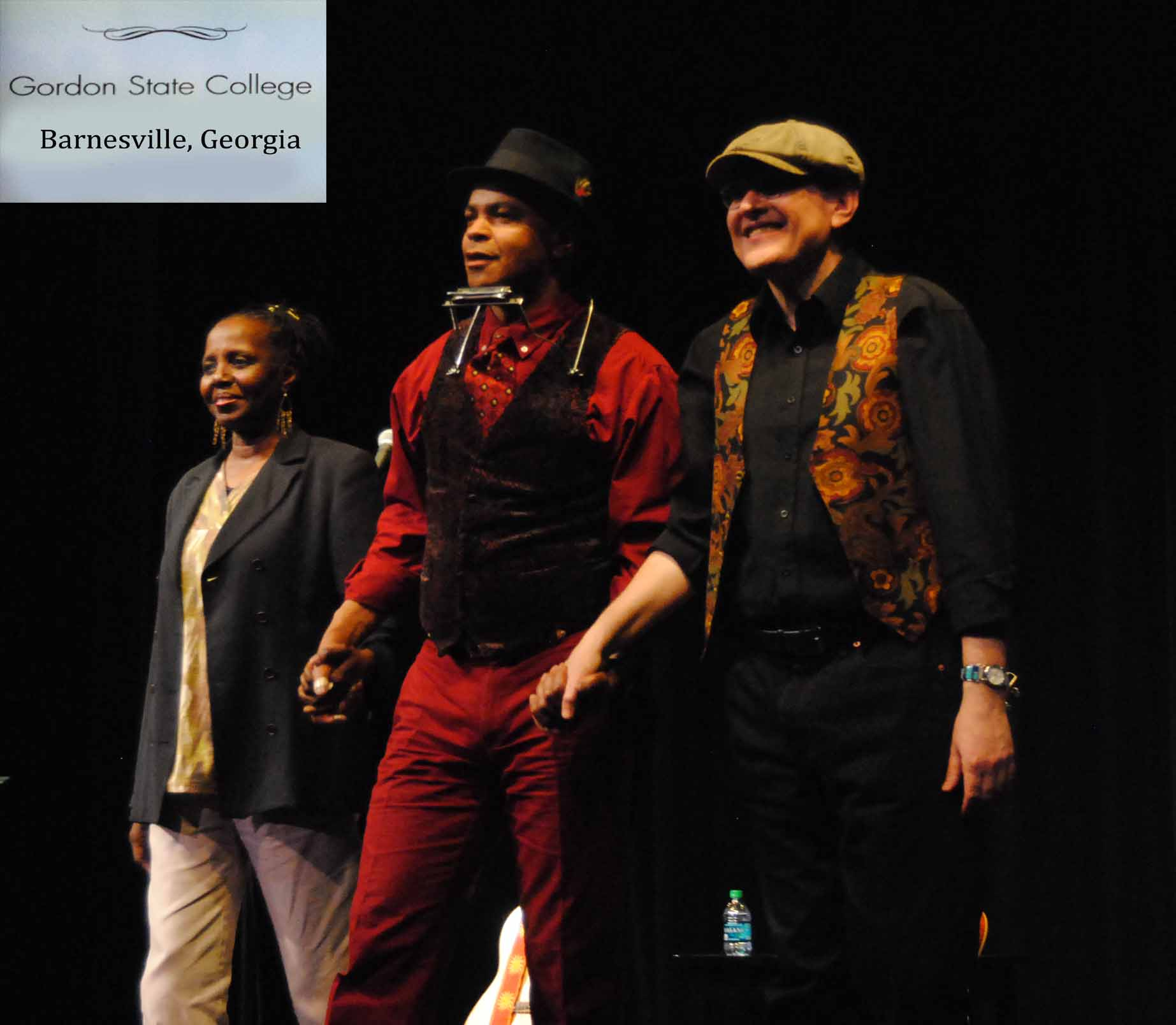 GUY DAVIS & FABRIZIO POGGI feat. Veronica Jackson 2014 USA TOUR GORDON COLLEGE Barnesville,