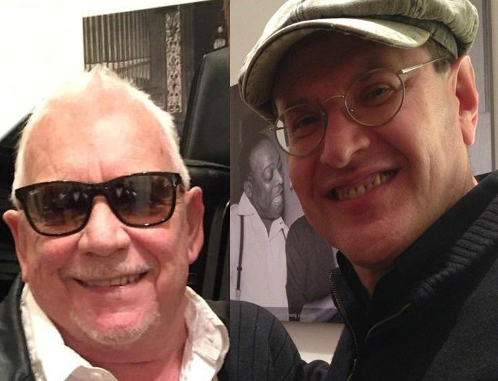 Eric Burdon and Fabrizio Poggi