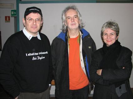 Fabrizio Poggi, Gurf Morlix and Angelina