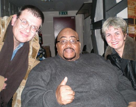 Fabrizio Poggi, Solomon Burke and Angelina
