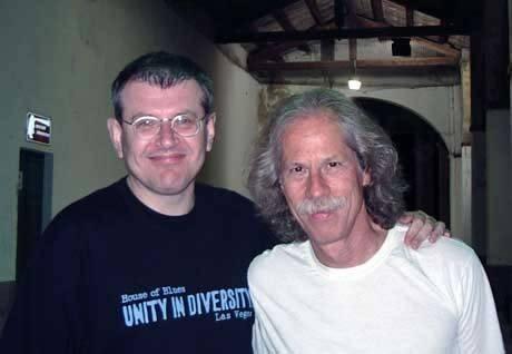 Fabrizio Poggi and Blue Lou Marini The Original Blues Brothers Band