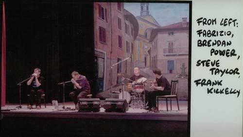 Fabrizio Poggi and Brendan Power live