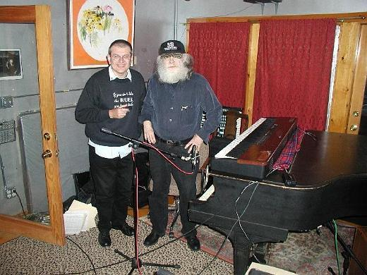 Fabrizio Poggi and Garth Hudson (The Band)