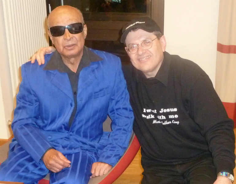 Fabrizio Poggi and Jimmy Carter (The Blind Boys of Alabama)