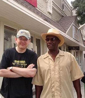 Fabrizio Poggi and Jimmy Duck Holmes Clarksdale Mississippi