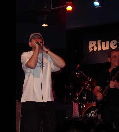 Fabrizio Poggi and John Tropea (Van Morrison) live