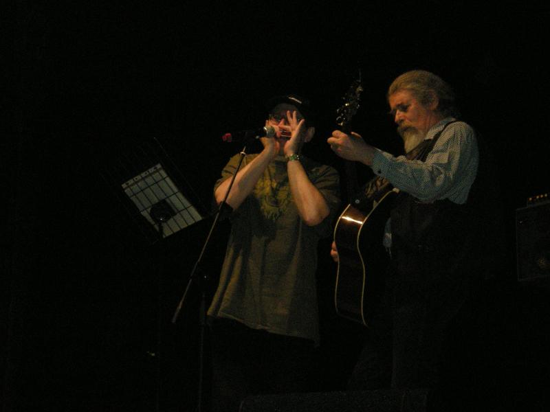 Fabrizio Poggi and Luigi Grechi