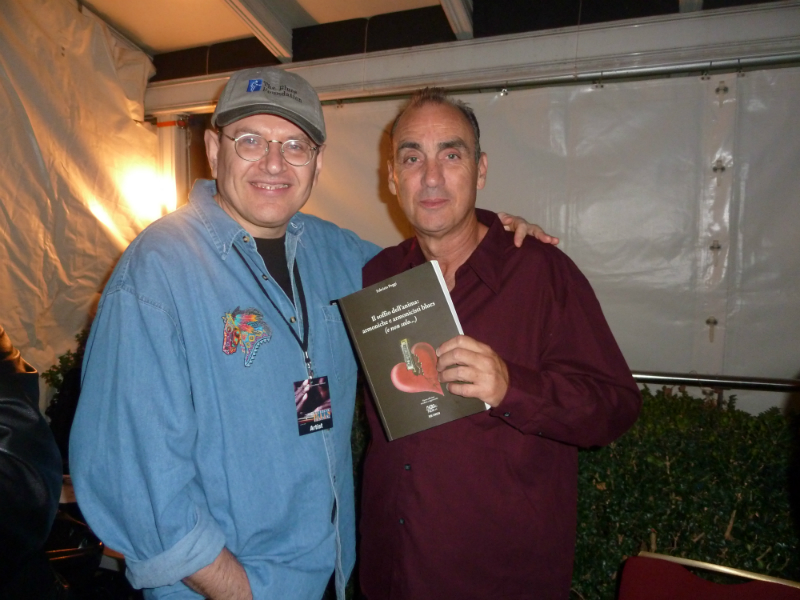 Fabrizio Poggi and Lynwood Slim