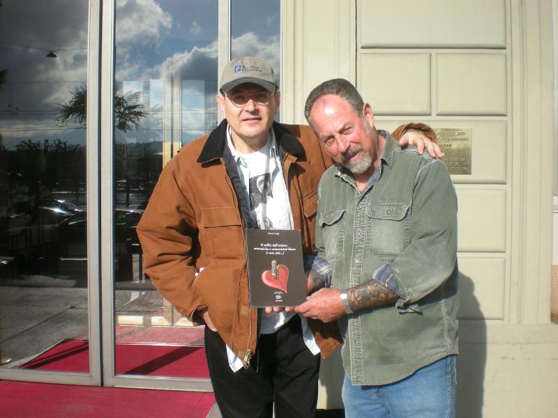 Fabrizio Poggi and Mark Wenner (The Nighhawks)