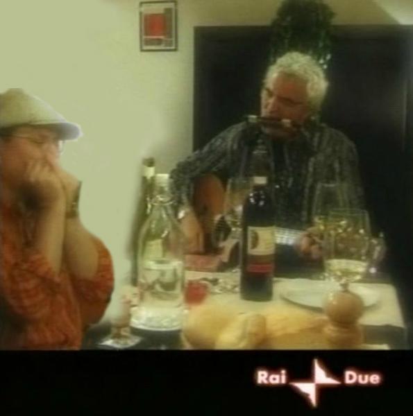 Fabrizio Poggi and Massimo Bubola - Rai Due