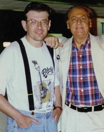 Fabrizio Poggi and Renzo Arbore