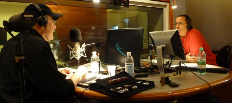 Fabrizio Poggi and Sergio Mancinelli Radio Capital Sentieri Notturni live