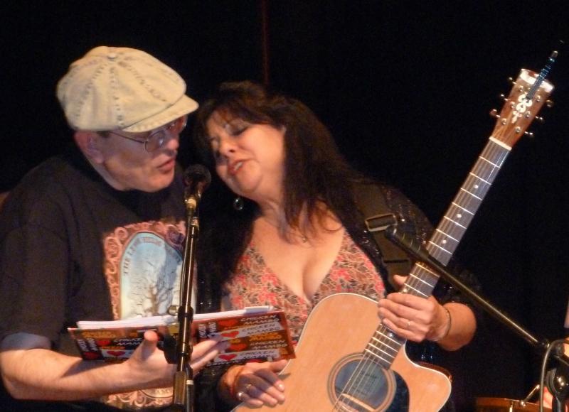 Fabrizio Poggi and Tish Hinojosa live in Texas