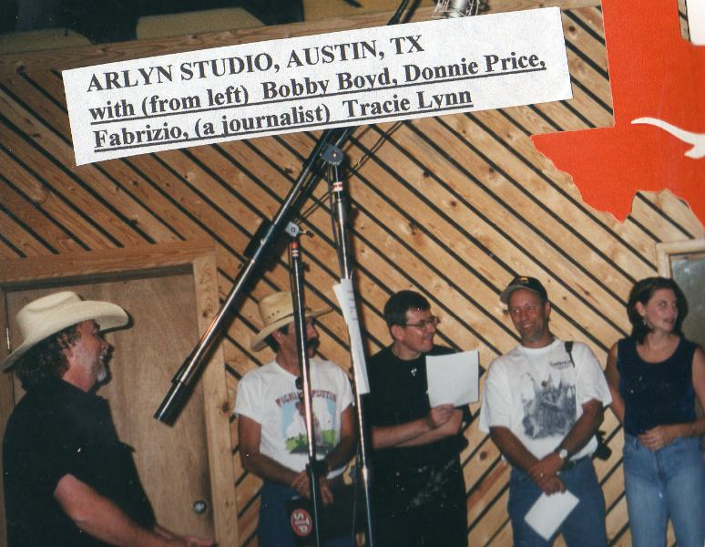 Fabrizio Poggi at the Arlyn Studio - Austin, Texas