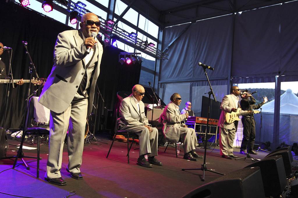 THE BLIND BOYS OF ALABAMA feat. FABRIZIO POGGI Ascona Jazz Festival